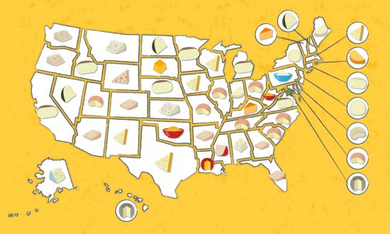 The United States of Cheese: The Most Popular Cheese in Every State