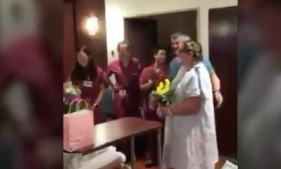 Woman in Labor Officiates Wedding of Another Woman in Labor