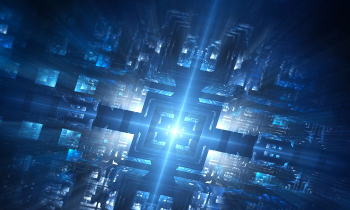 Quantum computers will make computer a lot faster but will they also threaten the technology behind blockchain? (Shutterstock)