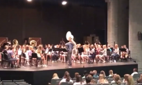 Music Students Surprise Sick Teacher with 'Top Gun' Performance