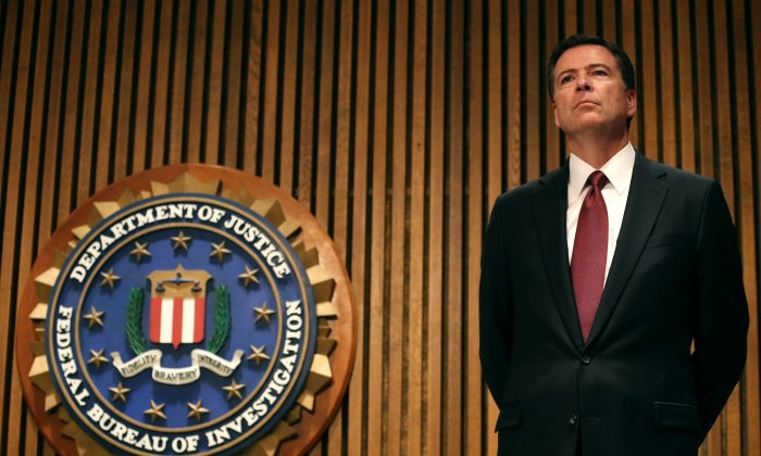 FBI Director James Comey at FBI headquarters in June 2014. (Mark Wilson/Getty Images)