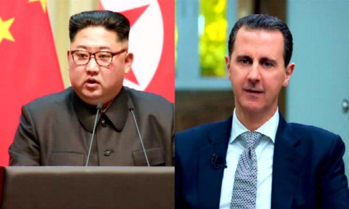 Syrian President Bashar al-Assad said he plans to visit North Korean leader Kim Jong Un, North Korean state media reported on Sunday, June 3. (Reuters)