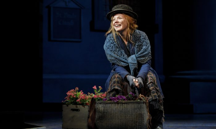 """Lauren Ambrose as Eliza DooLittle in """"My Fair Lady,"""" at Lincoln Center. (Joan Marcus)"""