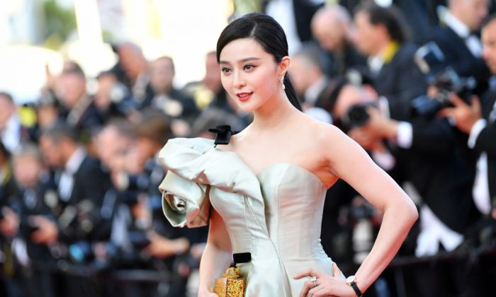 "Actress Fan Bingbing attends the screening of ""Ash Is The Purest White"" during the 71st annual Cannes Film Festival at Palais des Festivals in Cannes, France, on May 11, 2018. (Emma McIntyre/Getty Images)"