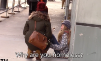 Girl pretends to be homeless to see who helps her—it doesn't work out the way I think