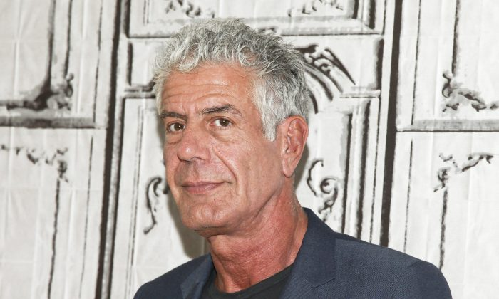 Anthony Bourdain, seen in a 2016 file photo, was a celebrity chef and travel documentarian. Bourdain died by suicide in France on June 8, 2018. (Andy Kropa/Invision/AP, File)