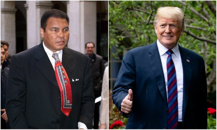 Donald Trump Considering Pardon for Muhammad Ali