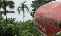 It looks like an old airplane in the jungle, but what's inside—You've got to see this