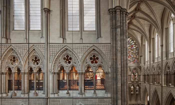Triforium Queen's Jubliee Galleries, Westminster Abbey (Alan Willaims/Westminster Abbey)