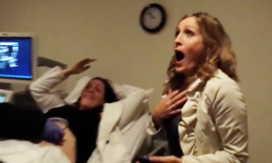 It's their gender reveal, but then doctor drops the bombshell—'You guys tricked me'