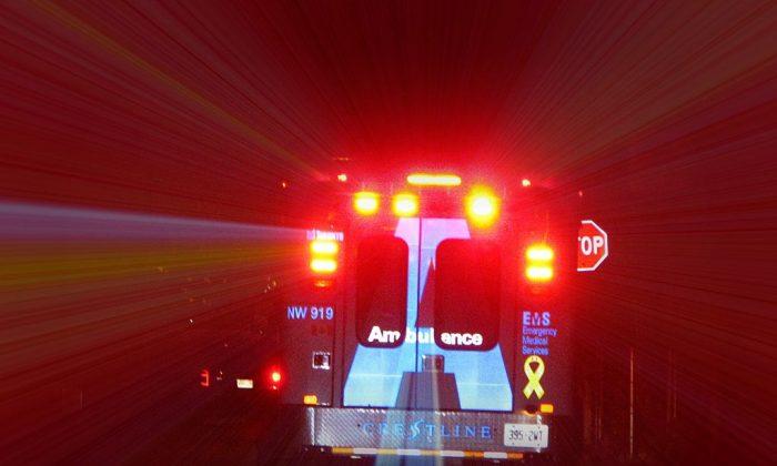 Stock photo of an ambulance. (Michael Gil via Wikimedia Commons)