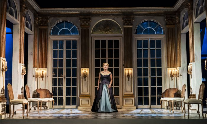 """Miah Persson shines as the Countess in Strauss's """"Capriccio"""" playing at the Garsington Opera. (Johan Persson)"""