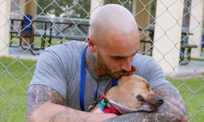 This man lost his freedom—but now he's found his best friend