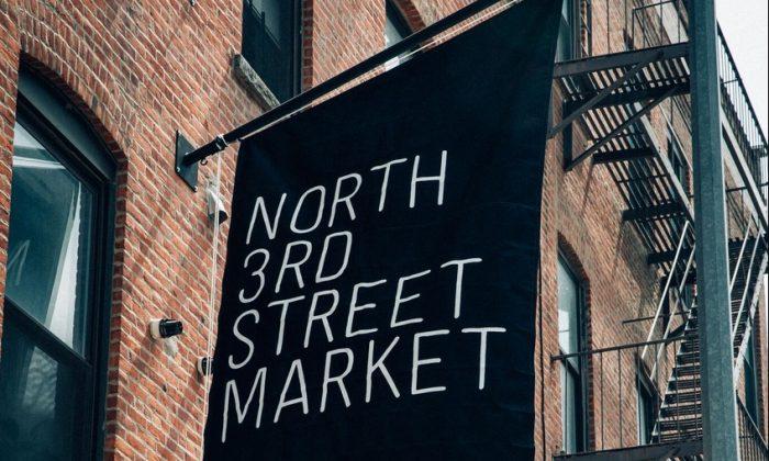 The newly opened North 3rd Street Market, in Williamsburg. (Sammy Glucksman)