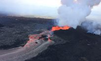 Lava Continues to Flow into Pacific After Small Explosion on Hawaii's Kilauea
