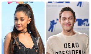 Ariana Grande and Pete Davidson Celebrate Engagement at Disneyland