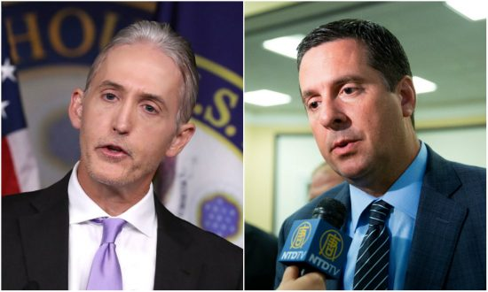 GOP's Nunes, Gowdy Accuse Justice Department of Planting Stories, Attacking Congressional Investigator