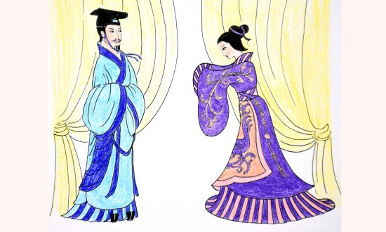 King Zhuang Became Powerful Thanks to a Lady of Noble Character