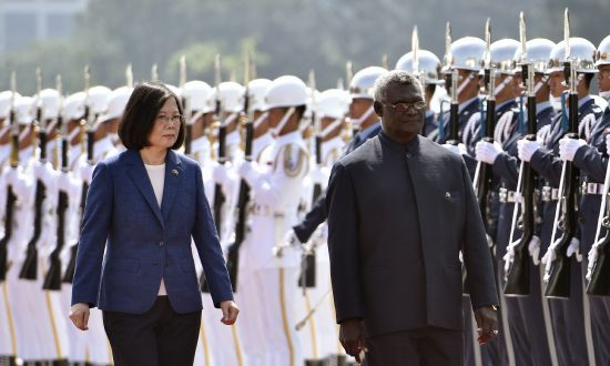 Beijing Pushing Taiwan and U.S. Allies out of the Pacific Islands, Says Congressional Report