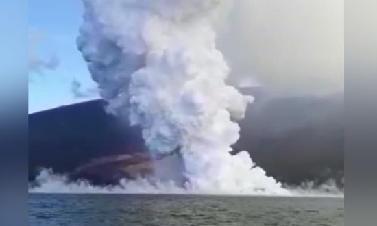 Galapagos Volcano Erupts, Lava Flows Into Sea—Dramatic Footage Captured Moments of Eruption
