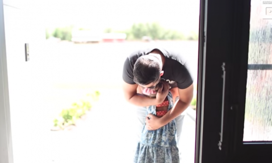 Little girl who had leukemia meets her bone marrow donor for the first time
