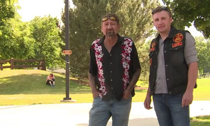 Don Fulton (L) and Matt Fulton (R) are father and son. Matt has offered to donate his kidney after his dad suffered from kidney failure. (Screenshot via KDVR)