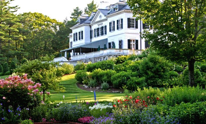 """""""The Mount,"""" Edith Wharton's home, in Lenox, Mass. (DAVID-DASHIELL / EDITHWHARTON.ORG)"""