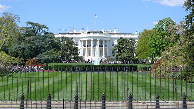 South side of the White House on April 26, 2015. (Tydence Davis [CC BY 2.0 (ept.ms/2haHp2Y)] via Flickr)