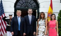 Trump Hosts King and Queen of Spain at White House
