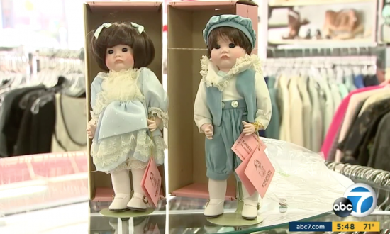 man donates mom s porcelain dolls to charity who discover 36000
