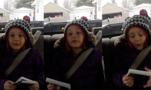 Girl shown an ultrasound & when she realizes that mom's pregnant, her excited reaction is too cute