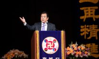 Founder of Falun Gong Speaks at Conference