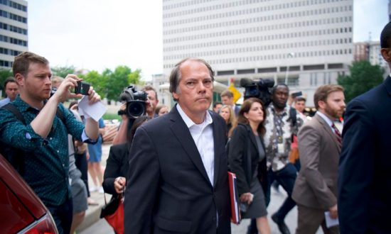 James A. Wolfe, a former Senate Intelligence Committee aide, exits the Edward A. Garmatz United States Courthouse in Baltimore, Maryland, on June 8, 2018. (Mark Makela/Getty Images)