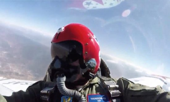 Air Force Thunderbirds Honor Utah Cop Who Rescued Boy