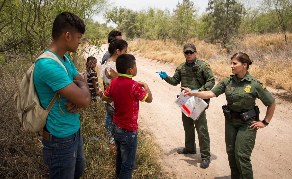 Illegal aliens at border