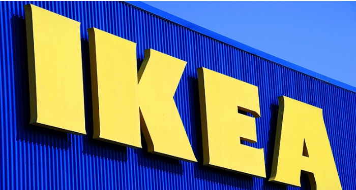 Swedish furniture retailer Ikea has a 'No Guns' policy in its stores. (Pascal Guyot/AFP/Getty Images)