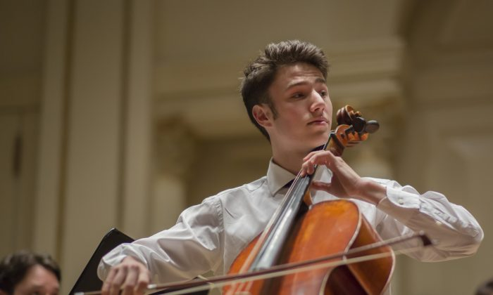 Alexander Rohatyn, the 18-year-old New York cellist, finds genuine joy in sharing his music, and soon he heads to Harvard and the New England Conservatory. (James Eden)