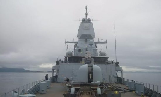 Video: Missile Explodes on German Navy Warship