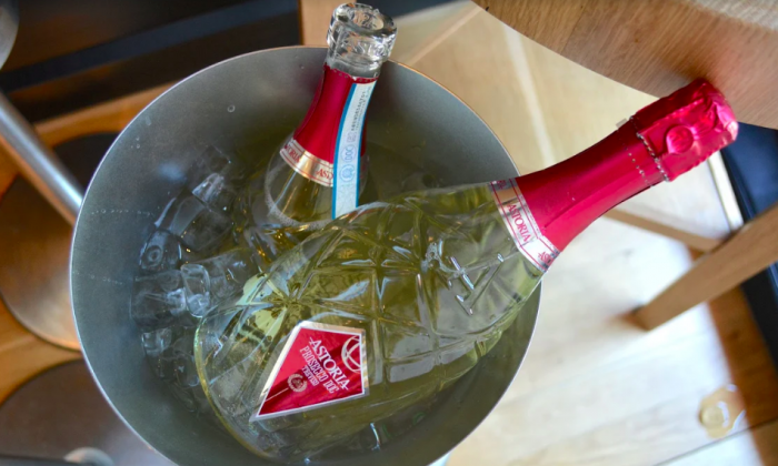 Astoria's Extra Dry Prosecco has a more classic pear, apple, and floral profile. (Ruth Tobias)
