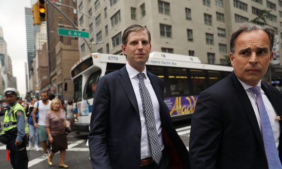 Eric Trump Rushes Into New York Traffic to Help Passed out Woman: Report