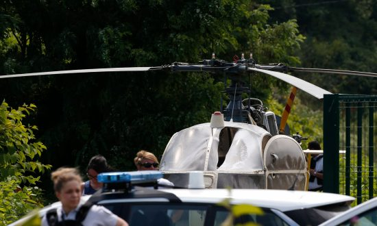 French Gangster Flees Prison in Spectacular Helicopter Escape