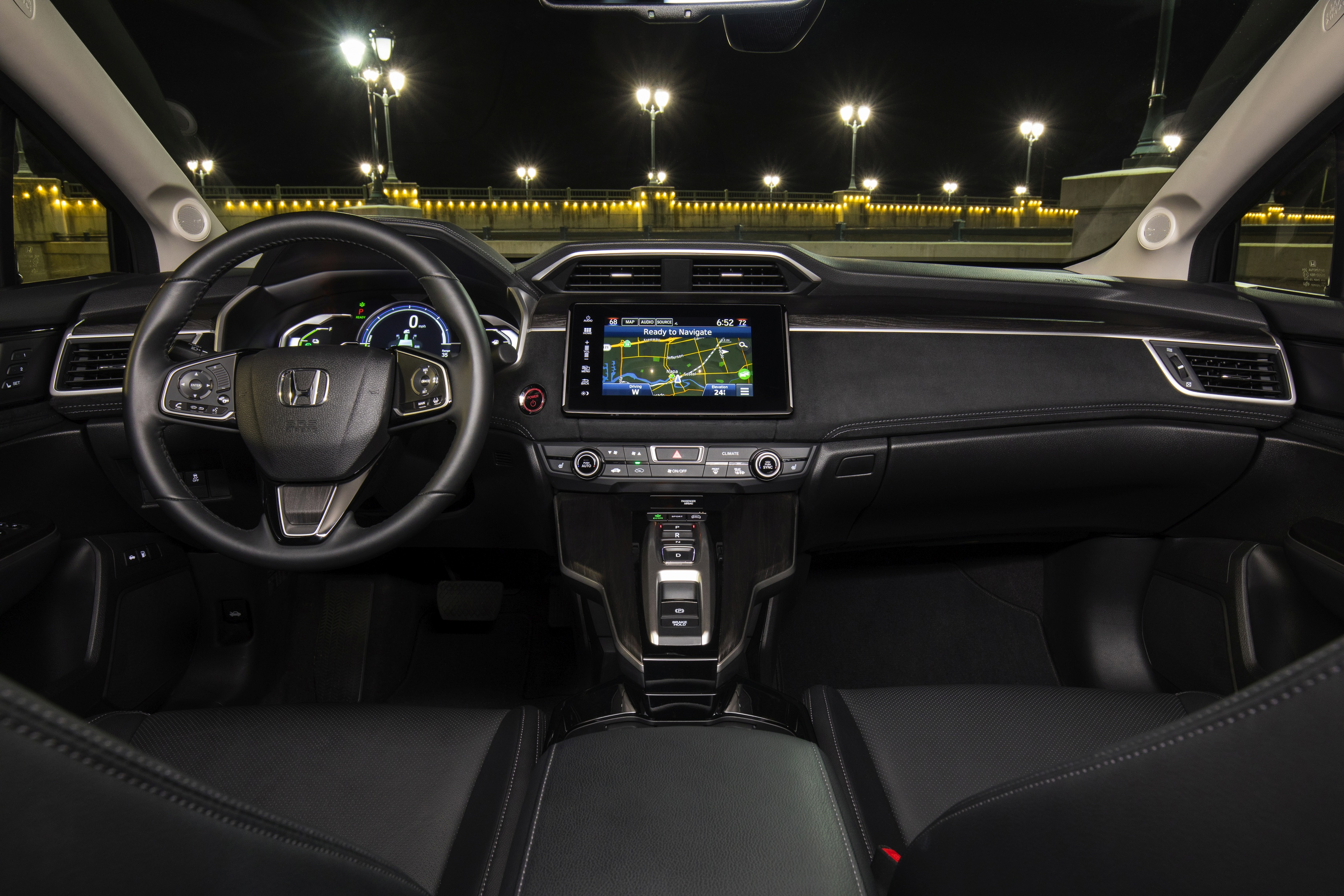 Inside The 2018 Clarity Plug In Courtesy Of Honda