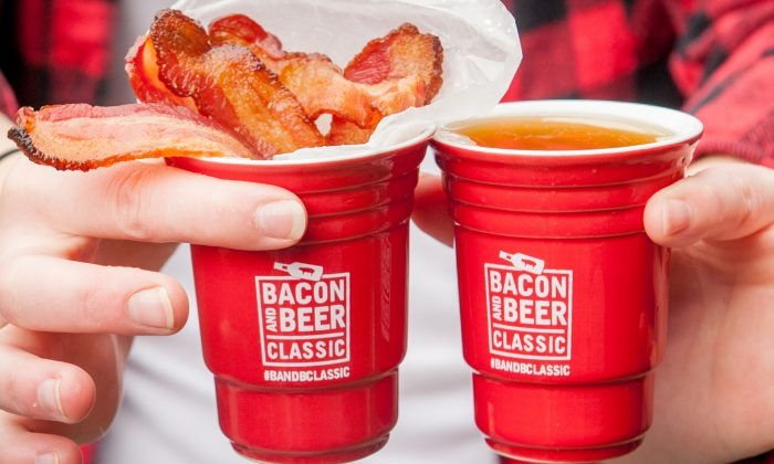 Bacon and beer. (Courtesy of Bacon and Beer Classic)