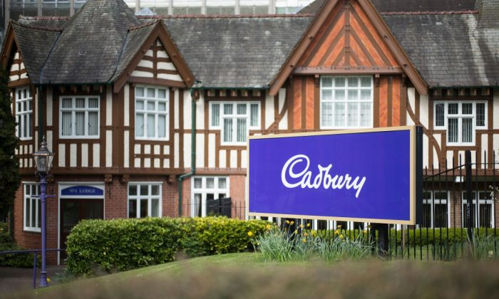 The entrance to the Cadbury factory in Bournville on April 5, 2017 in Birmingham, United Kingdom. (Christopher Furlong/Getty Images)