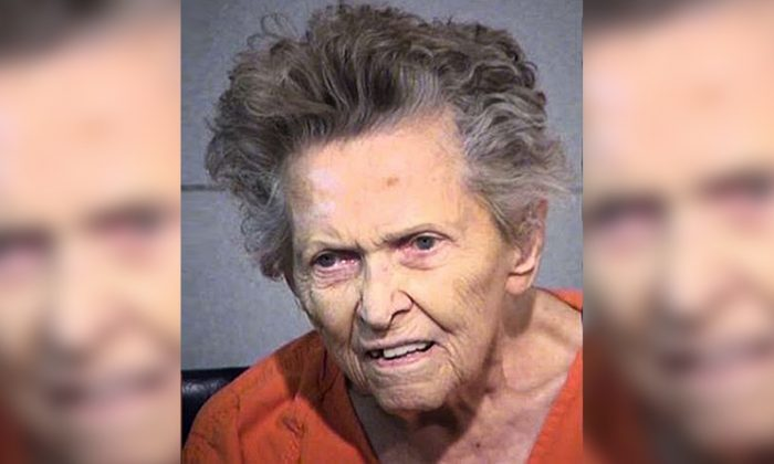 Anna Blessing allegedly shot and killed her son for suggesting she needed to move to an assisted-living community. (Maricopa County Sheriff's Office)