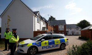 Novichok Poisoning: Specialist Officers Search Central City Park