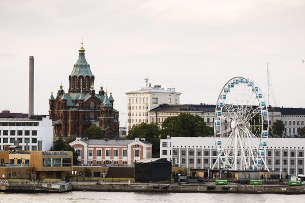 A general city view of Helsinki, Finland, taken on June 28, 2018. (RONI REKOMAA/AFP/Getty Images)