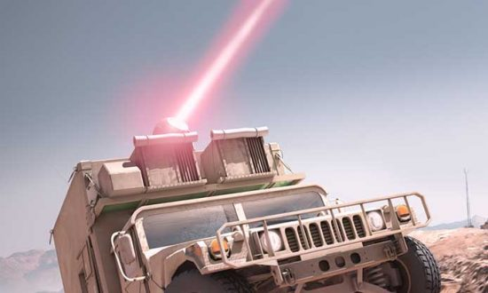 Raytheon Developing Laser Weapons for US Army