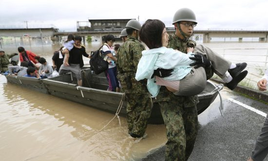 At Least 38 Killed, 50 Missing as Torrential Rain Pounds Japan