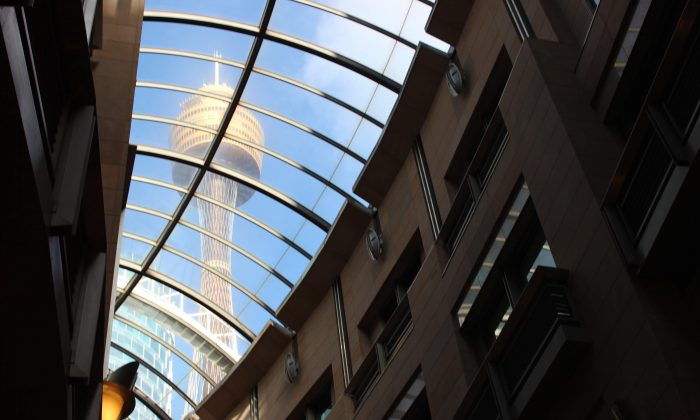 Sydney's Centrepoint Tower. (Frank Ling/The Epoch Times)